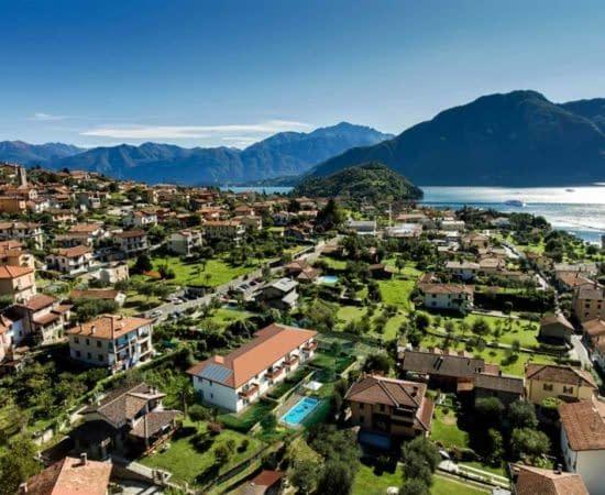I borghi sul Lago di Como